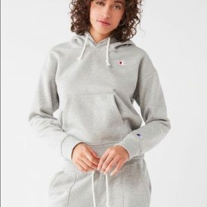 Champion Double Hooded Hoodie